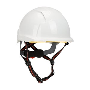 EVOLite® Skyworker™ ABS, EPS, HDPE, LDPE, Polyester, Cotton Hard Hat with Liner in White P280AJS26010