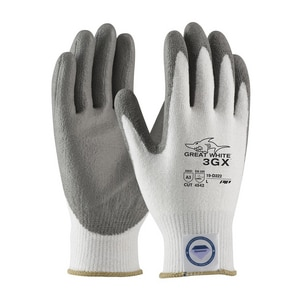 Great White® 3GX® XL 13 Gauge Dyneema Diamond Blended Shell with Polyurethane Coated Palm P19D322XL at Pollardwater
