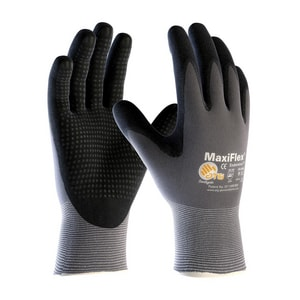 MaxiFlex® Endurance™ XL Size Micro Foam and Nitrile Coated Glove in Grey and Black P34844XL