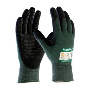 MaxiFlex® Cut™ XL Size Micro Foam and Nitrile Coated Glove in Green and Black P348443XL at Pollardwater