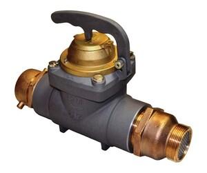 Zenner FHZ30 2-1/2 in. Fire Hydrant Meter with Check Valve, Cubic Feet ZFHZ30BCFCV at Pollardwater