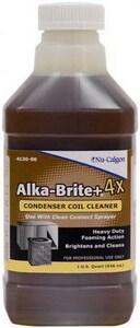 Nu Calgon Wholesaler Alka-Brite Plus 1 qt Alkaline Based Condenser Coil Cleaner N412090