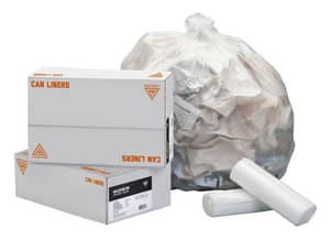 Westcraft 24 x 33 in. 16 gal 13 mil Can Liner in Natural WC114926