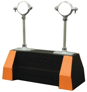 FNW® HBS-HPC Series H-Block® 1 in. Electro-galvanized Recycled Rubber Rooftop Channel Support FNW7714G