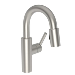 Newport Brass East Linear Single Lever Handle Bar Faucet in Satin Nickel - PVD N1500-5203/15S