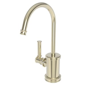 Newport Brass Taft 1 gpm 1 Hole Deck Mount Hot Water Dispenser with Single Lever Handle in French Gold - PVD N2940-5613/24A