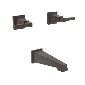 Newport Brass Malvina Two Handle Wall Mount Filler in English Bronze Trim Only N3-3145/07