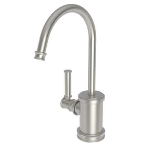 Newport Brass Taft 1 gpm 1 Hole Deck Mount Hot Water Dispenser with Single Lever Handle in Satin Nickel - PVD N2940-5613/15S