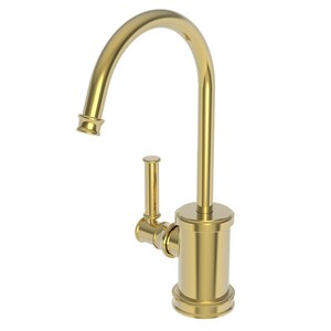 Newport Brass Taft 1 gpm 1 Hole Deck Mount Hot Water Dispenser with Single Lever Handle in Polished Gold - PVD N2940-5613/24