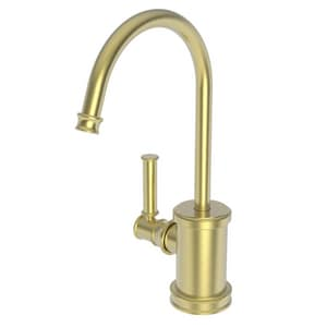 Newport Brass Taft 1 gpm 1 Hole Deck Mount Hot Water Dispenser with Single Lever Handle in Satin Brass - PVD N2940-5613/04