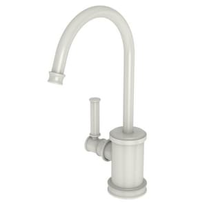 Newport Brass Taft 1 gpm 1 Hole Deck Mount Hot Water Dispenser with Single Lever Handle in Biscuit N2940-5613/65