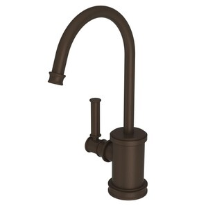 Newport Brass Taft 1 gpm 1 Hole Deck Mount Hot Water Dispenser with Single Lever Handle in Weathered Copper - Living N2940-5613/08W