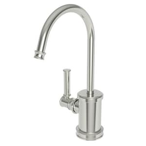 Newport Brass Taft 1 gpm 1 Hole Deck Mount Hot Water Dispenser with Single Lever Handle in Polished Nickel - Natural N2940-5613/15