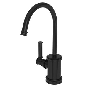 Newport Brass Taft 1 gpm 1 Hole Deck Mount Hot Water Dispenser with Single Lever Handle in Gloss Black N2940-5613/54