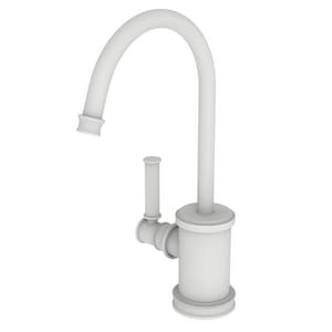 Newport Brass Taft 1 gpm 1 Hole Deck Mount Hot Water Dispenser with Single Lever Handle in Matte White N2940-5613/52