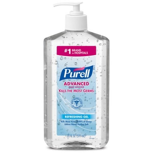 PURELL Advanced 20 oz. Hand Sanitizer Gel with Pump Bottle G302312