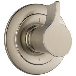 Brizo RSVP® Single Handle Bathtub & Shower Faucet in Brushed Nickel (Trim Only) DT60990BN
