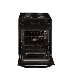 General Electric Appliances 27-1/8 in. 4-Burner Drop-In Electric Range in Black GJM250DFBB