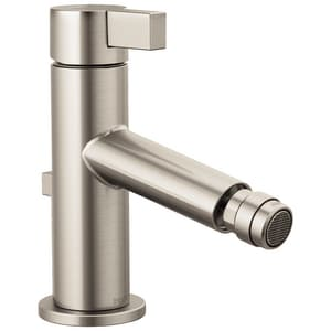 Brizo Litze 1-Hole Bidet Faucet with Single Lever Handle in Brilliance Luxe Nickel D68135NK