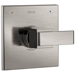 Delta Faucet Ara® Wall Mount Valve Trim Only in Brilliance Stainless DT14067SS