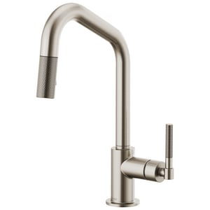 Brizo Litze Single Handle Pull Down Kitchen Faucet in Stainless D63063LFSS
