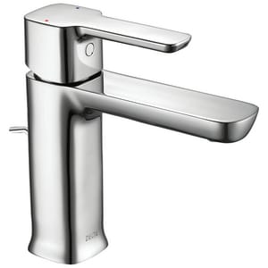 Delta Faucet Modern Single Handle Monoblock Bathroom Sink Faucet in Polished Chrome D581LFMPUPP