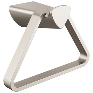 Delta Faucet Zura® Triangular Towel Holder in Brilliance Stainless D77446SS