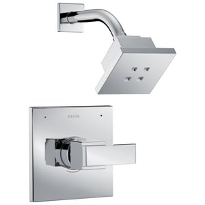 Delta Faucet Ara® 1.5 gpm Shower Faucet Trim with Single Lever Handle in Polished Chrome (Trim Only) DT14267H2O