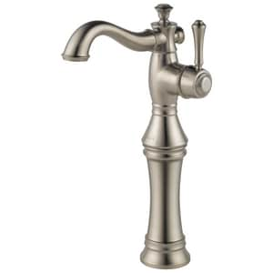 Delta Faucet Cassidy™ Single Handle Vessel Filler Bathroom Sink Faucet in Brilliance Stainless D797LFSS