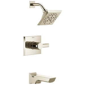 Delta Faucet Pivotal Single Handle Multi Function Bathtub & Shower Faucet in Polished Nickel (Trim Only) DT14499PN