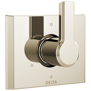 Delta Faucet Pivotal Single Handle Bathtub & Shower Faucet in Brilliance® Polished Nickel (Trim Only) DT11999PN