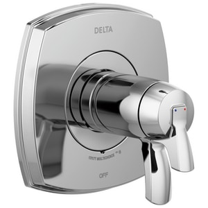Delta Faucet Stryke™ Two Handle Single Function Bathtub & Shower Faucet in Polished Chrome (Trim Only) DT17T076