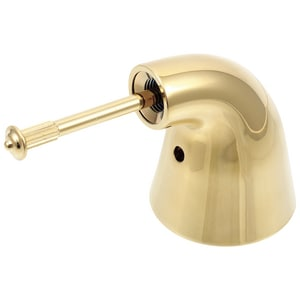 Delta Faucet Innovations 4-3/10 in. Single Lever Handle in Brilliance Polished Brass DH74PB