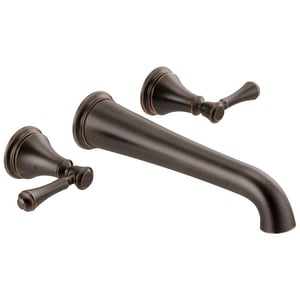 Delta Faucet Cassidy™ Two Handle Wall Mount Filler in Venetian Bronze Trim Only DT5797RBWL