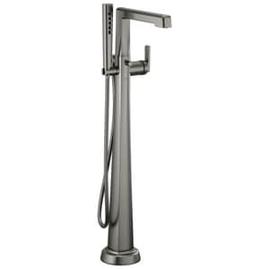 Brizo Levoir™ Single Handle Lever Floor Mount Filler in Luxe Steel (Trim Only) DT70198SL