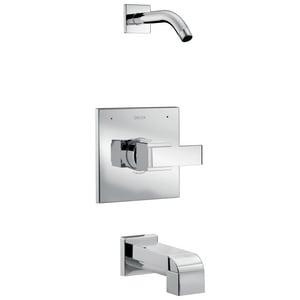 Delta Faucet Ara® Single Handle Bathtub & Shower Faucet in Polished Chrome (Trim Only) DT14467LHD