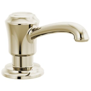 Delta Faucet Cassidy™ 13 oz. Kitchen Soap Dispenser in Brilliance® Polished Nickel DRP100735PN