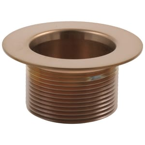Delta Faucet Toe Operated Waste Plug Brilliance Brushed Bronze DRP16687BZ