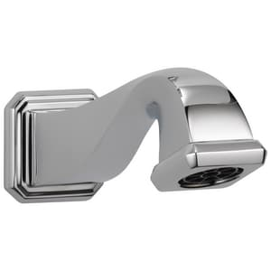 Brizo Virage® Pull-Down Diverter Tub Spout in Polished Chrome DRP62605PC