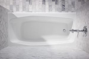 KOHLER Villager® 60 x 30-1/4 in. Soaker Alcove Bathtub Left Drain in White K715