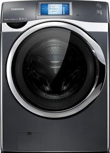 Samsung 34 x 39 in. 4.5 cf Front Load Washer and Dryer in Onyx SWF457ARGSGRA2