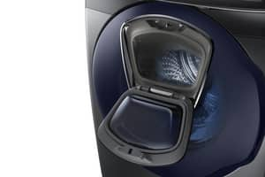 Samsung 34 x 38-37/50 in. 5 cf Front Load Washer in Black Stainless SWF50K7500AVA2