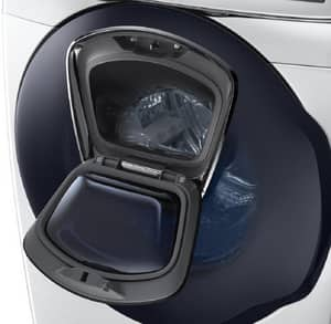 Samsung 34 x 38-37/50 in. 4.5 cf Front Load Washer in White SWF45K6500AWA2