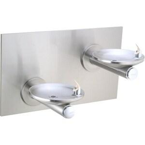 Elkay SwirlFlo® Non-Filtered Non-Refrigerated Bilevel Reverse Fountain in Stainless Steel EEDFPBMV117RAC