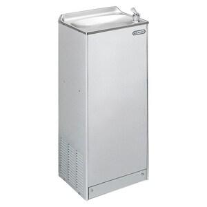 Elkay Legacy Floor Mounted Water Cooler in Stainless Steel EEFWC16S1Z