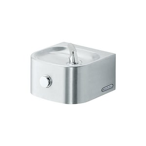Elkay Soft Sides® Non-Filtered Non-Refrigerated Freeze Resistant Drinking Fountain in Stainless Steel EEDFP210FPK