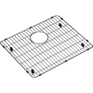 Elkay Crosstown 17-3/8 x 14-3/8 x 1-1/4 in. Bottom Grid in Polished Stainless Steel ECTXBG1815