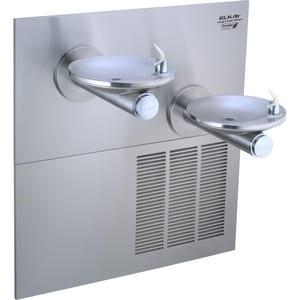 Elkay SwirlFlo® Bi-Level ADA Refrigerated Fountain in Stainless Steel ELRPBGRNM28K