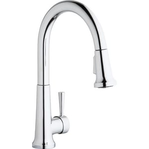Elkay Everyday Single Handle Pull Down Kitchen Faucet in Polished Chrome ELK6000CR
