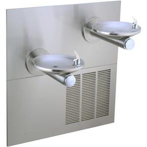 Elkay SwirlFlo® Non-Filtered Bilevel Reverse Fountain in Stainless Steel EERPB28RAK